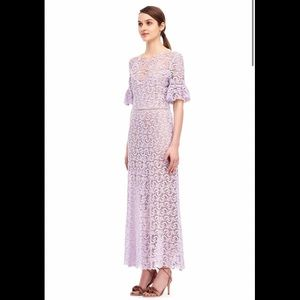 New Rebecca Taylor Eliza Lace Midi Maxi Dress